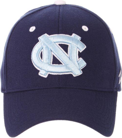 newest c78b9 2cd4c Zephyr Men s North Carolina Tar Heels Navy ZH Stretch Fit Hat
