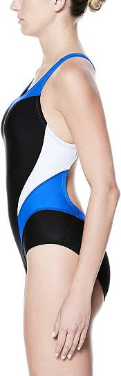 Nike Women's Victory Color Block Power Back Tank Swimsuit product image