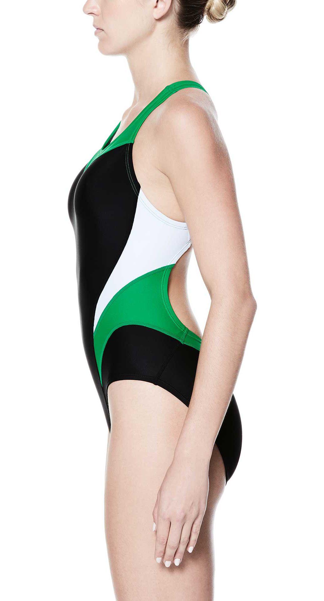 8f83acc99d Nike Women's Victory Color Block Power Back Tank Swimsuit. noImageFound.  Previous. 1. 2. 3