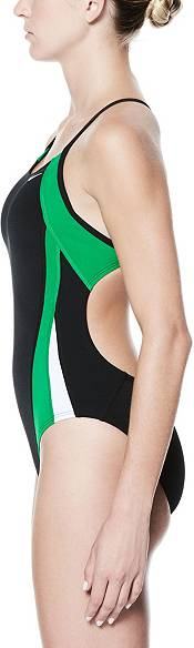Nike Women's Poly Color Surge Cut-Out One Piece Swimsuit product image