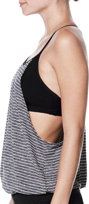 53d3fa86565e3 Nike Women's Heather Stripe Layered Sport T-Back Tankini Top. noImageFound.  Previous. 1. 2. 3