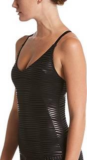 Nike Women's 6:1 Shine Stripe Crossback Tankini Top product image
