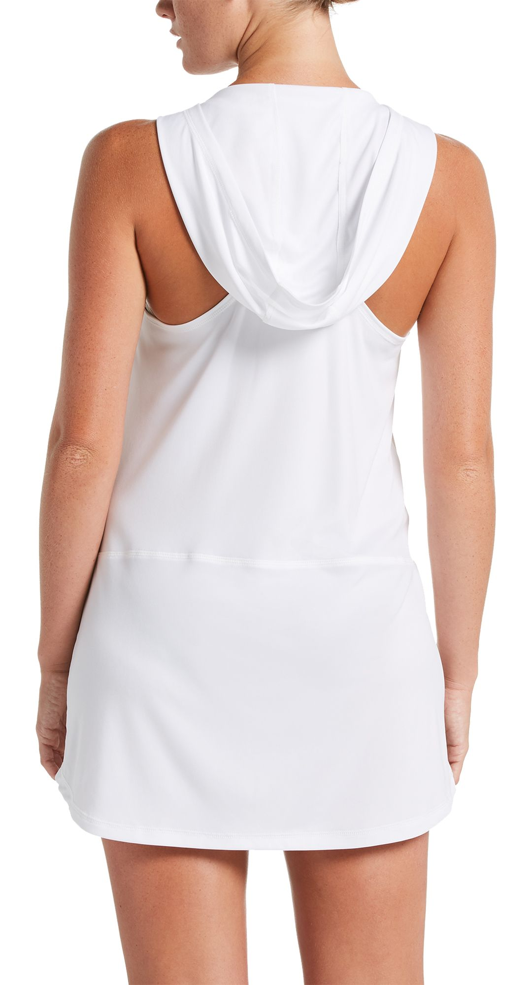 b0684816c7 Nike Women's Solid Hooded Racerback V-Neck Cover-Up Dress | DICK'S ...