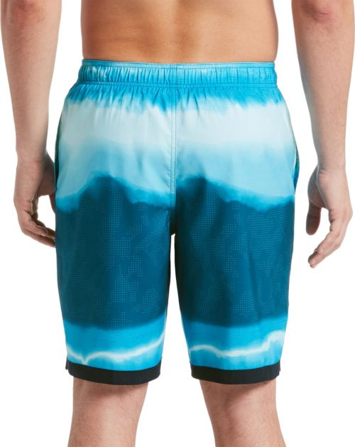 a70ed9da84 Nike Men's Optic Halo Horizon Swim Trunks | DICK'S Sporting Goods
