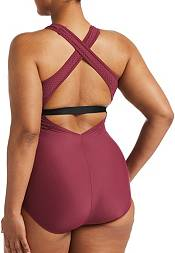 Nike Women's Plus Size Essential Crossback One Piece Swimsuit product image