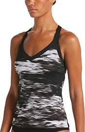Nike Women's Blur V-Neck Tankini Top product image