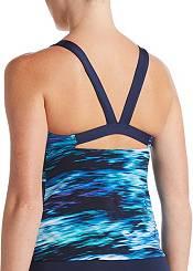 Nike Women's Blur V-Back Tankini Swimsuit Top product image