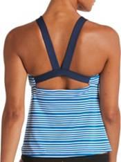 Nike Women's 6:1 Striped V-Neck Tankini Top product image