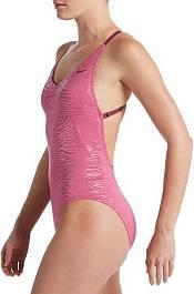 Nike Women's Geo Onyx Crossback One Piece Swimsuit product image