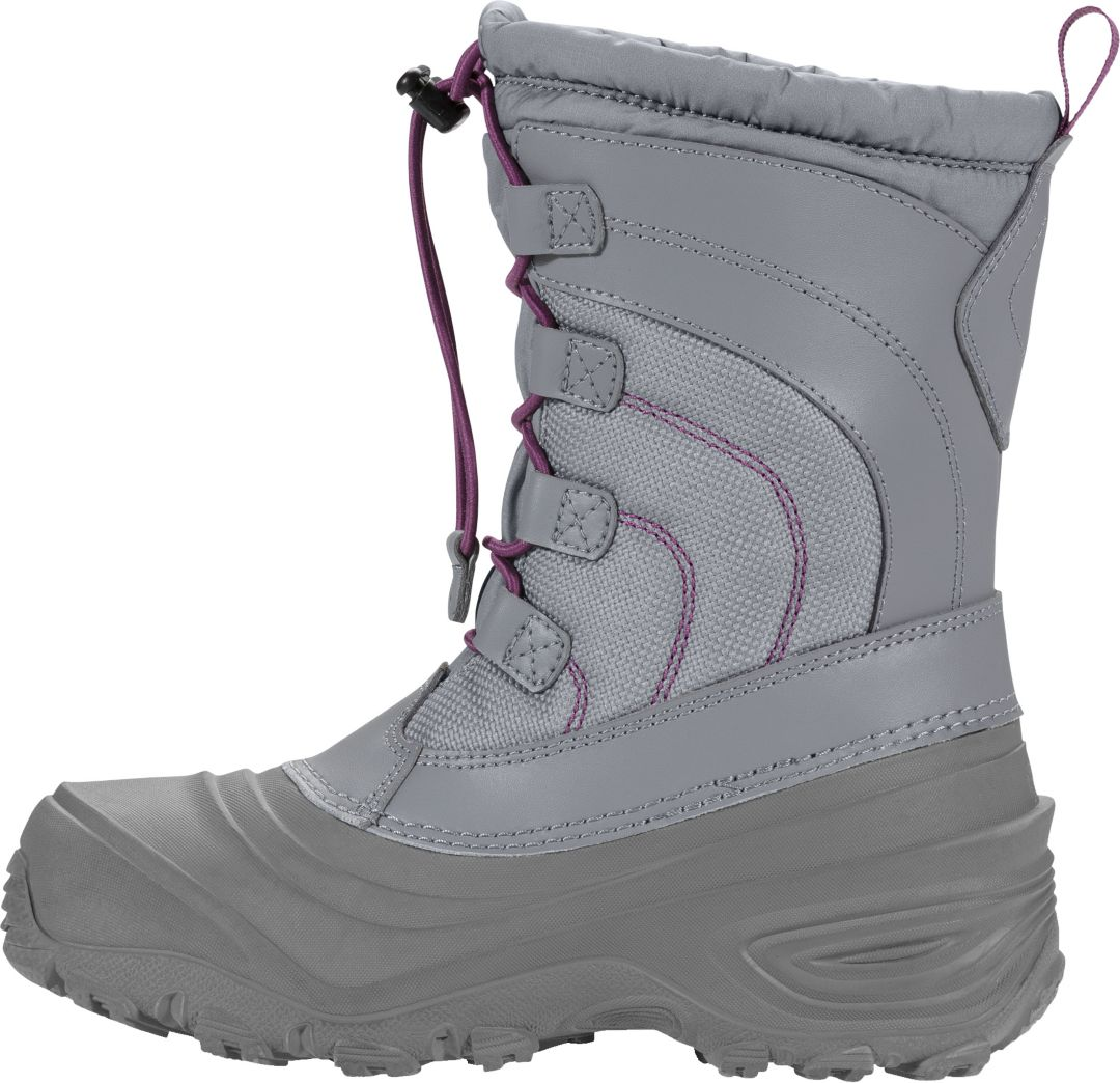 1b31de4a9 The North Face Kids' Alpenglow IV Lace Waterproof Winter Boots