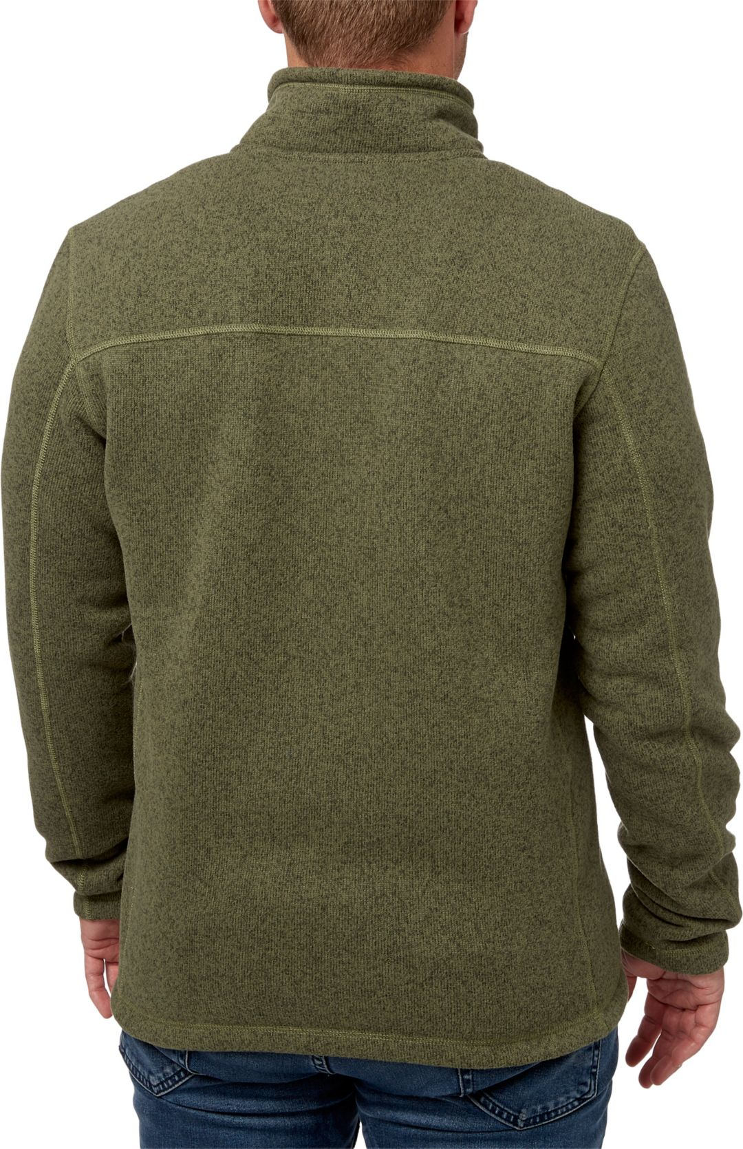 c7440beaa The North Face Men's Gordon Lyons Quarter Zip Fleece Pullover