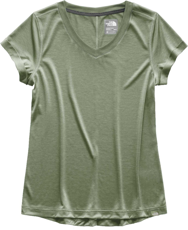 1e37e3f6f The North Face Women's HyperLayer FlashDry V-Neck T-Shirt