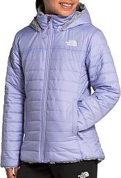 The North Face Girls' Reversible Mossbud Swirl Insulated Parka product image