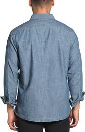 The North Face Men's Long Sleeve Berkeley Chambray Zippered Shirt Jacket product image