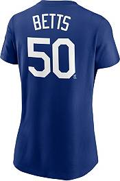 Nike Women's Los Angeles Dodgers Mookie Betts #50 Dodger Blue T-Shirt product image