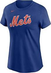 Nike Women's New York Mets Francisco Lindor #12 Blue T-Shirt product image