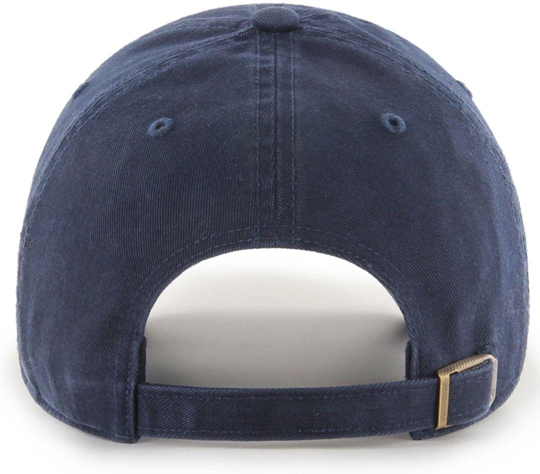 6484a0431 '47 Men's New Orleans Pelicans Zion Williamson Navy Clean Up Adjustable Hat
