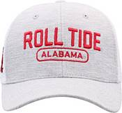 Top of the World Men's Alabama Crimson Tide Grey Notch Adjustable Snapback Hat product image