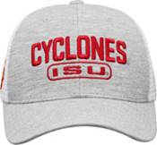Top of the World Men's Iowa State Cyclones Grey Notch Adjustable Snapback Hat product image