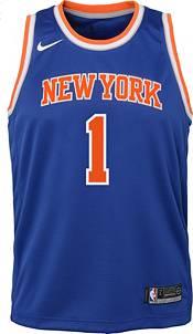 Nike Youth New York Knicks Obi Toppin #1 Blue Dri-FIT Swingman Jersey product image