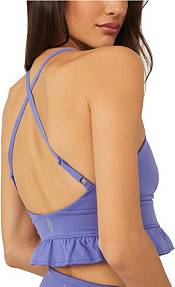 FP Movement by Free People Women's Solid Square Neck Plie All Day Sports Bra product image