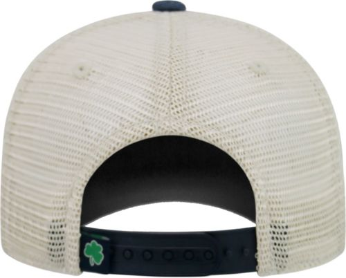 48194b5095b56 Top of the World Men s Notre Dame Fighting Irish Navy White Green Off Road  Adjustable Hat
