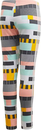 adidas Originals Girls' 3-Stripe All Over Print 90s' Leggings product image