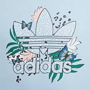 adidas Girls' HER Studio London Animal Flower Print Cropped Hoodie product image