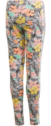 adidas Originals Girls' Floral Print Leggings product image