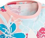 adidas Originals Girls' Floral Trefoil Graphic T-Shirt product image