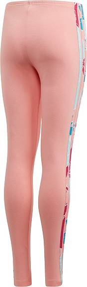 adidas Originals Girls' Floral Stripes Leggings product image