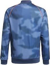 adidas Boys' Blue Camo Track Jacket product image