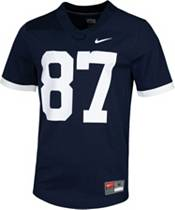 Nike Men's Penn State Nittany Lions #87 Blue Dri-FIT Game Football Jersey product image