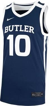 Nike Men's Butler Bulldogs #10 Blue Replica Basketball Jersey product image