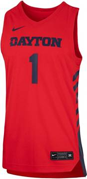 Nike Men's Dayton Flyers #1 Red Replica Basketball Jersey product image