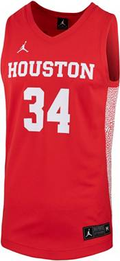Jordan Men's Houston Cougars #34 Red Replica Basketball Jersey product image
