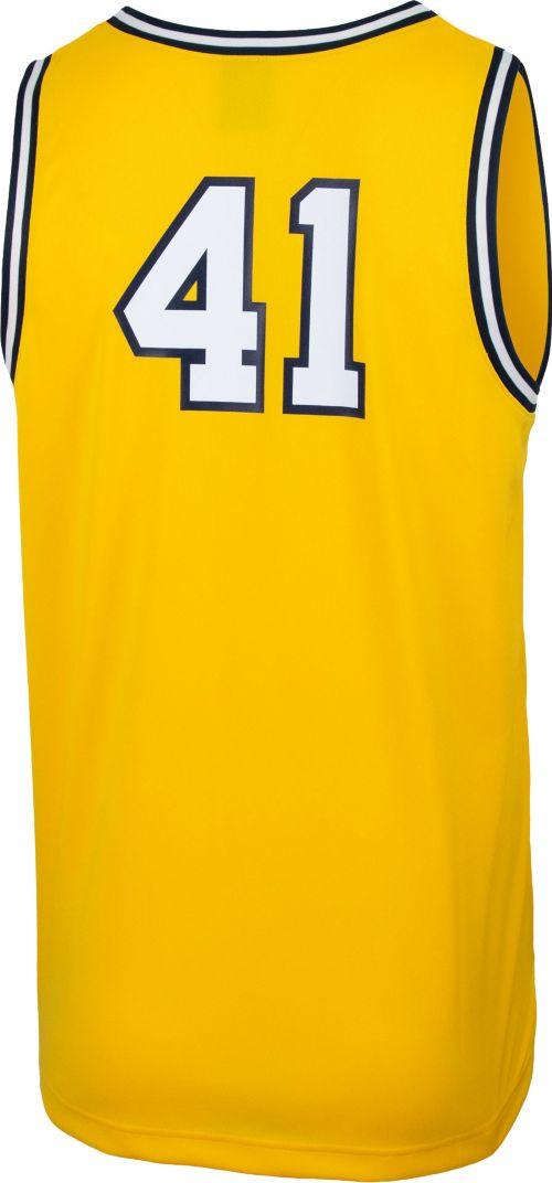 da5c79cdb Jordan Men s Michigan Wolverines  41 Maize Retro Replica Basketball Jersey.  noImageFound. Previous. 1. 2. 3