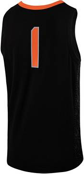 Nike Men's Oklahoma State Cowboys #1 Replica Basketball Black Jersey product image