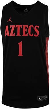 Jordan Men's San Diego State Aztecs #1 Replica Basketball Black Jersey product image
