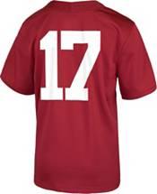 Nike Youth Alabama Crimson Tide #17 Crimson Game Football Jersey product image