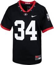 Nike Youth Georgia Bulldogs #34 '100th Anniversary' Game Football Black Jersey product image
