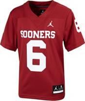 Jordan Youth Baker Mayfield Oklahoma Sooners #6 Crimson Replica Football Jersey product image