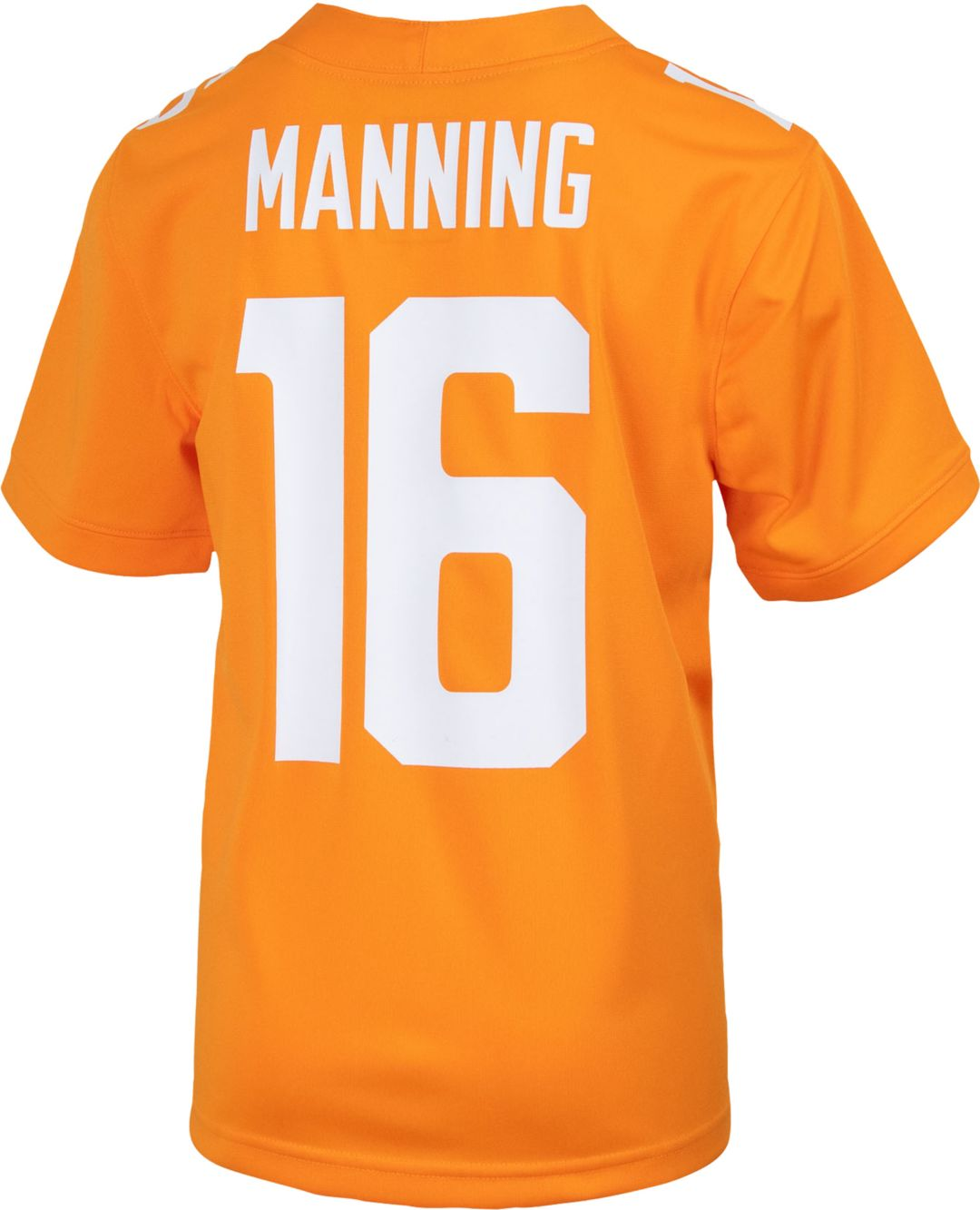 brand new 198a3 c1d7a Nike Youth Peyton Manning Tennessee Volunteers #16 Tennessee Orange Replica  Football Jersey