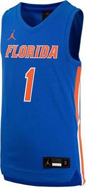 Jordan Youth Florida Gators #1 Blue Replica Basketball Jersey product image