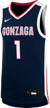 Nike Youth Gonzaga Bulldogs #1 Blue Replica Basketball Jersey product image
