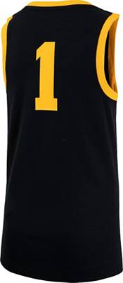Nike Youth Iowa Hawkeyes #1 Black Replica Basketball Jersey product image