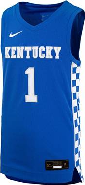Nike Youth Kentucky Wildcats #1 Blue Replica Basketball Jersey product image