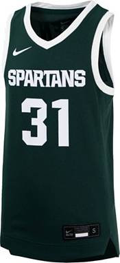 Nike Youth Michigan State Spartans #31 Green Replica Basketball Jersey product image