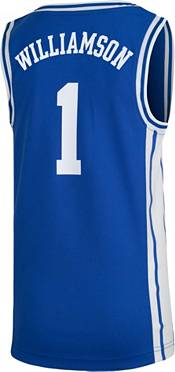 Nike Youth Zion Williamson Duke Blue Devils #1 Duke Blue Replica Basketball Jersey product image