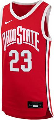 Nike Youth LeBron James Ohio State Buckeyes #23 Scarlet Replica Basketball Jersey product image